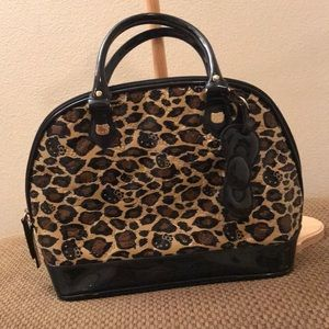 Handbags - Leopard hello kitty purse